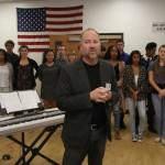 Burbank High School InSync Chorus led by Brett Carroll.